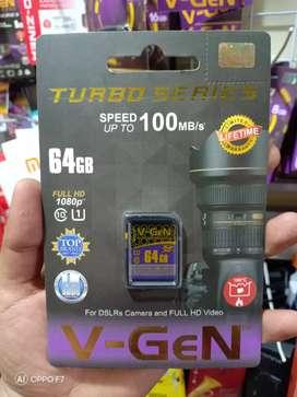 Ready kak Memory camera/SHDC 64GB class10 Garansi lifetime jantung acc