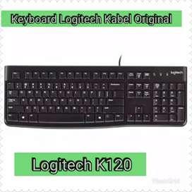 Keyboard Logitech K120 Keyboard Usb Keyboard External Pc dan Laptop