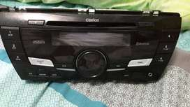 TOYOTA CLARION  bluetooth mp3  nd CD PLAYER ORIGNAL