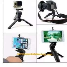 Tripod Lipat Mini Handphone + Holder U