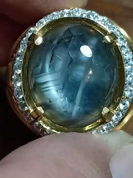 Blue sapphire thailand bangsing biru parthawijaya