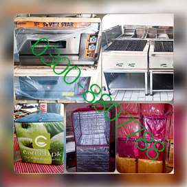 Bakery counter Pizza ovenss Deep fryers hot plate Home delivery bags
