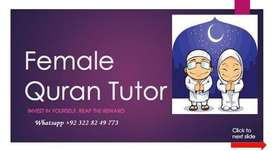 Female Quran Teachers For Kids, Learning ONline Quran with Tajweed