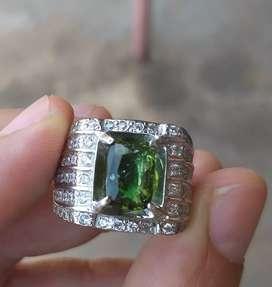 Dijual vivid green tsavorite garnett high quality