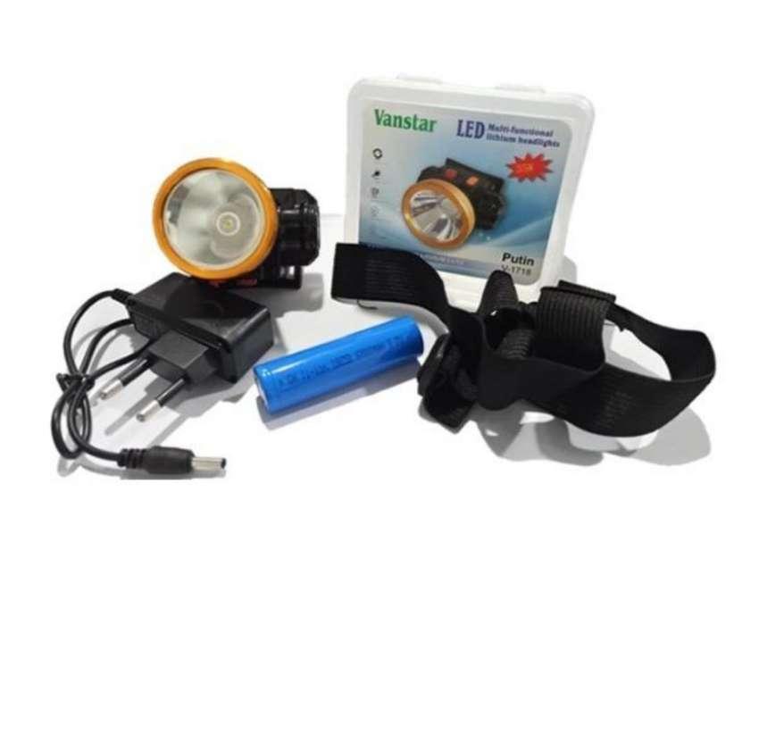 Senter Kepala Lithium Core / Headlamp Lithium 35W V-1718 0