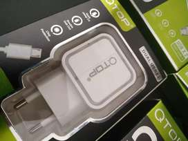 Charger Fast Charging 3.0A QTop