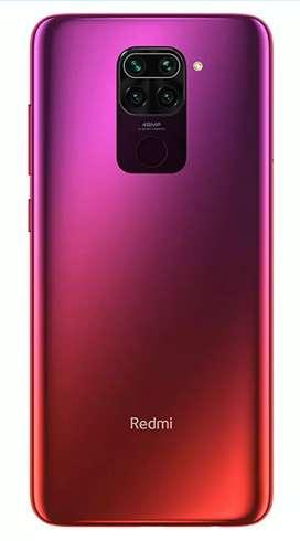 Redmi Note 9 (Scarlet Red, 4GB RAM, 64GB Storage)