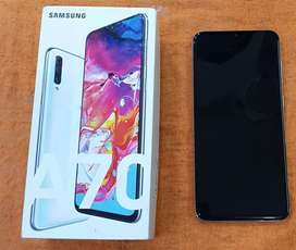 Samsung A70 just 2 mnths used with Bill n All original accessories