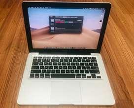 Macbook Pro MD101 Mid2012 Core i5 Ram 8gb Ssd 240gb Plus Hdd 500gb