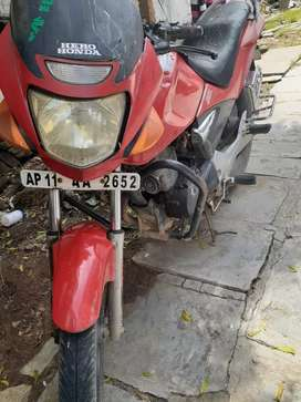 Red color bike PRICE negotiable