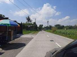 Akses Jalan Manisrenggo Kavling Murah Siap AJB