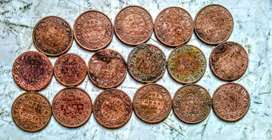 Old coins from 1880 to 1940