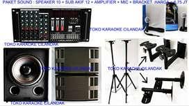 paket sound system untuk acara yasinan