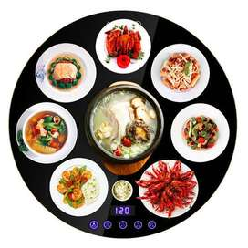 ROTATING FOOD WARMING BOARD FOR DINING TABLE 80 MM