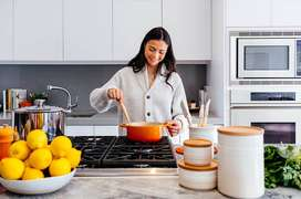 URGENTLY REQUIRED EXPERIENCED COOK/MAID FOR 24 HOURS IN GK-1