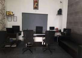 Commercial Fully Furnished Office for Rent, At 15000, area - 410 sq.ft