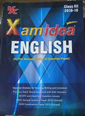 Exam Idea,English,Class 12,Rs 220