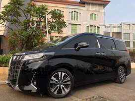 Toyota Alphard 2.5 G ATPM 2018 New Model Black On Beige Km8000 Heater