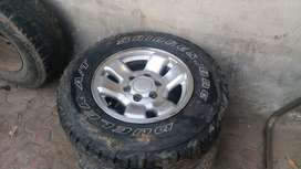 Parado land cruiser Alloy Rims 16inch R16
