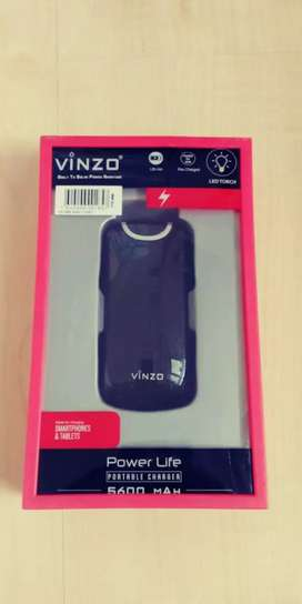 Powerbank Vinzo original 5600 Mah