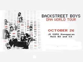 Tiket Backstreet boys DNA tour 2019  Kelas festival Depan panggung
