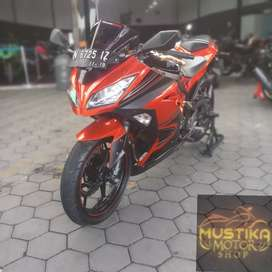 Kawasaki Ninja 250 SE ABS 2014 Plat N Asli-Super Murah Se Olx Mustika