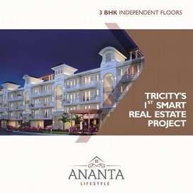 Luxury 3BHK Independent Floors And Apartments In Zirakpur