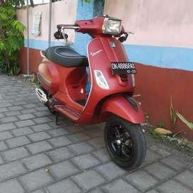 Bali dharma motor//jual Vespa S 125cc,thn 2018