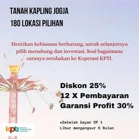 Beli Kapling Diskon 25%: Aset Strategis, Tepi Jl Raya Purwomartani