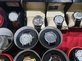 Men's and women's branded watches