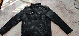 Leather jacket man gulf imported product