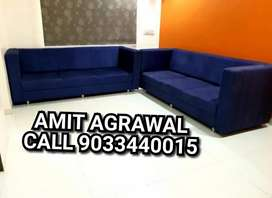 3+3 seat premium square handle sofa set
