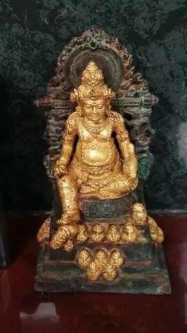 Patung lapis emas