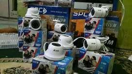 Pantau keamanan kamera CCTV online HP instalasi pemasangan gratis