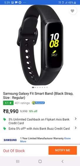 Samsung galaxy fit watch