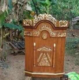 Mimbar podium masjid tipe ukir Jepara tipe 13