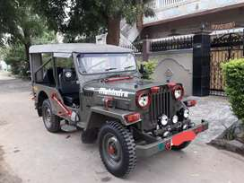 Mahindra modified Military jeep