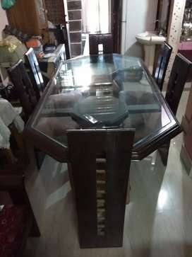 6 chair set dining table