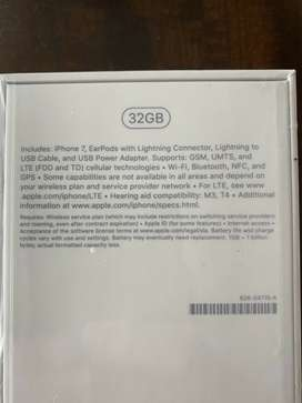 Apple iPhone 7 Sealed In Box! US Seller!!