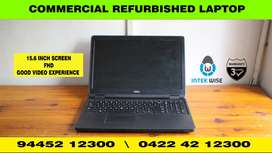 15.6 FHD WITH i5 5th COMMERCIAL REFURBISHED LAPTOP