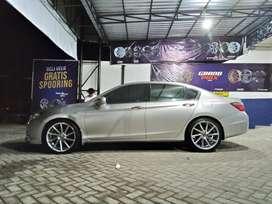 Honda Accord ganti velg Racing Ciao HSR Ring20 Lebar 9 & Ban 245/40