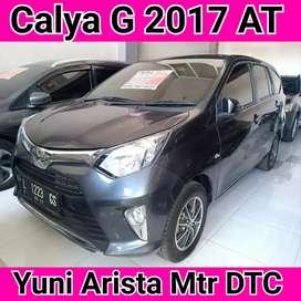 Toyota Calya G 2017 AT Pajak Baru 2020 Terawat Plat L Sby