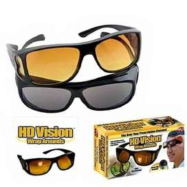 HD Vision Sun Glasses - Black & Yellow