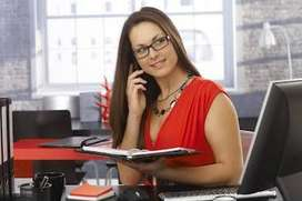Wanted Beautiful Personal Secretary Independent Girl in Office