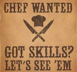Wanted Chefs to work in a Restaurant.