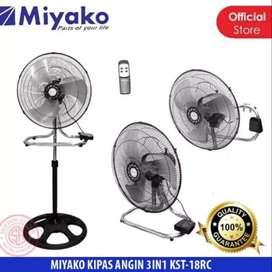 Kipas Angin Miyako KST-RC18 3 in 1