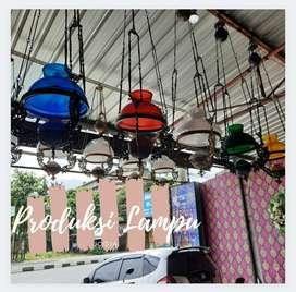 Produksi Lampu Gantung Barang Antik  Klasik Hias Rumah Joglo Gebtok