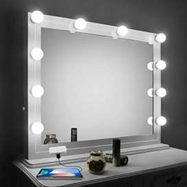 LED Vanity Makeup Mirror Light 10 Bulb