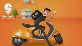 Swiggy online food delivery executive