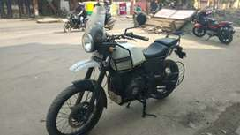Royal enfield himalayan 411cc showroom condition Emi available
